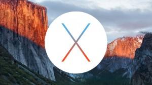Mise à jour OS X 10.11.1